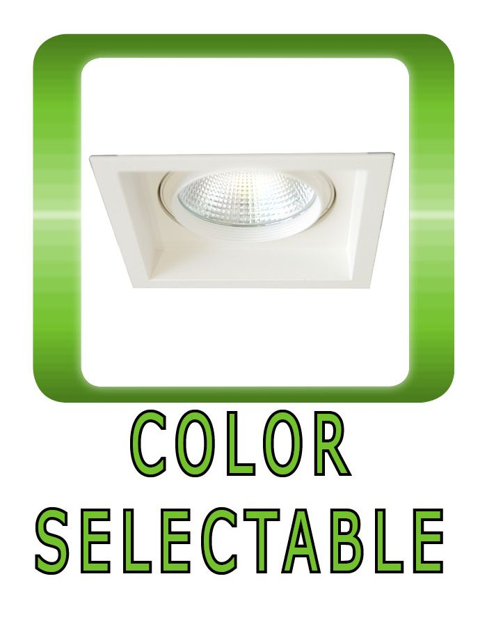 Color Selectable Downlight